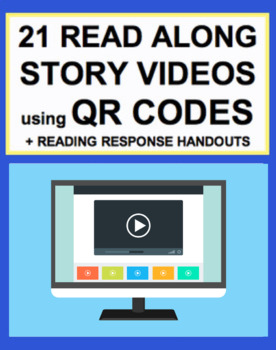 QR Code Listening Center Stories + Reading Response Handouts for EVERY K-3 CCSS
