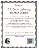 QR Code Listening Center and Comprehension Questions 1st Grade