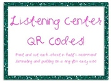 QR Code Listening Centers