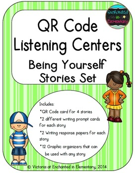 QR Code Listening Centers: Being Yourself Stories Set