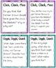 QR Code Listening Centers: Click, Clack, Moo Stories Set