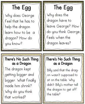 QR Code Listening Centers: Dragon Stories Set 2