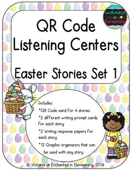 QR Code Listening Centers: Easter Stories Set 1