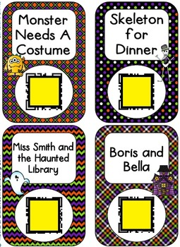 QR Code Listening Centers: Halloween Stories Set 2