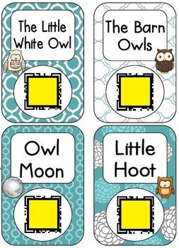 QR Code Listening Centers: Owl Stories Set 1