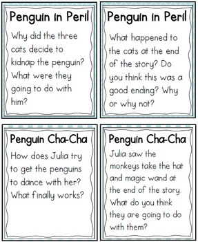 QR Code Listening Centers: Penguin Stories Set 1