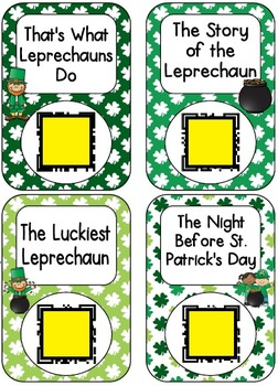 QR Code Listening Centers: Saint Patrick's Day Stories Set 1