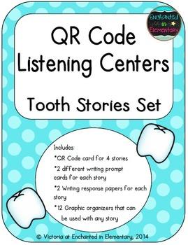 QR Code Listening Centers: Tooth Stories Set