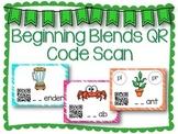 QR Code Literacy Center & Write the Room Activity: Beginni