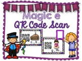 QR Code Literacy Center & Write the Room Activity: Magic e Words