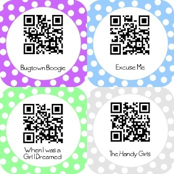 QR Code Literacy Station Books Read Aloud