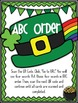 QR Code Literacy Stations {March - St. Patrick's Day}