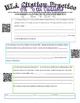 QR Code MLA Citation Practice Activity