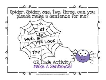 QR Code ~ Make A Sentence!