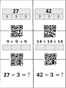 QR Code Matching Activity TEKS 4.5A