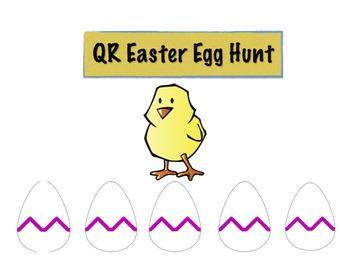 QR Code Math Easter Egg Hunt