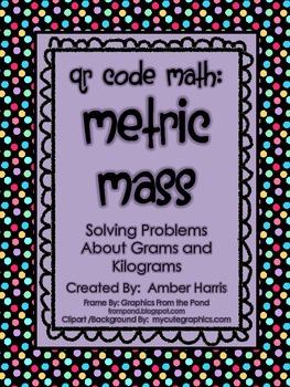 QR Code Math:  Metric Mass