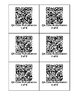 QR Code Math Multiplication Worksheet