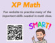QR Code Math Posters with Bitmojis (Editable)