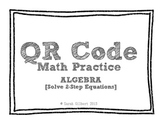 QR Code Math Practice [Algebra - Two Step Equations]