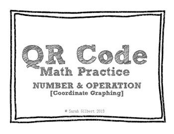 QR Code Math Practice [Coordinate Graphing]