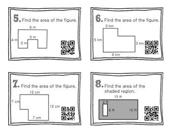 QR Code Math Practice GEOMETRY BUNDLE PACK