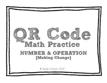 QR Code Math Practice [Making Change]