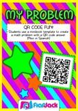 QR Code Math Problem Fun - FREE