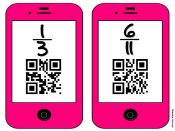 QR Code Scavenger Hunts for Grades 3 and 4 (8 Sets, CC Aligned-Math)