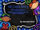 QR Code Math Story Problems