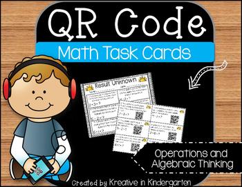 QR Code Math Task Cards- Operations and Algebraic Thinking
