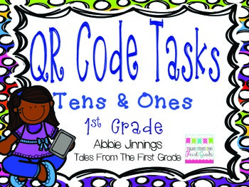 QR Code Math Tasks- Tens and Ones