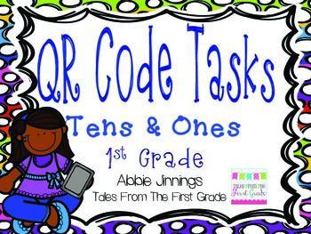 QR Code Math Tasks- Tens and Ones
