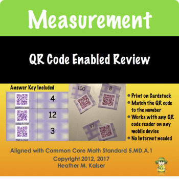 QR Code Measurement Fun