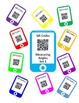 QR Code Measuring Angles Task Cards with Protractors- Star