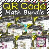 QR Code Middle School Math Task Cards
