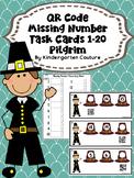 QR Code Missing Numbers 1-20 Pilgrims
