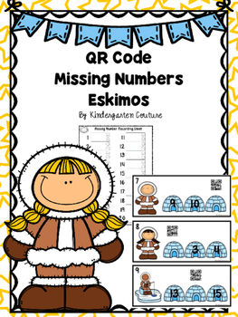 QR Code Missing Numbers Eskimo