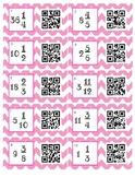 QR Code Mixed Number/Improper Fraction Task Cards