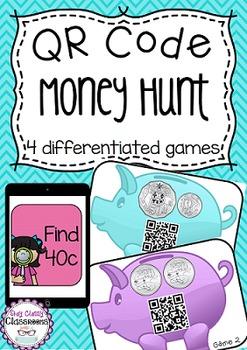QR Code - Money Hunt (Australian Currency)