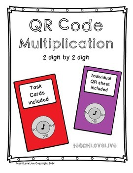 QR Code Multiplication 2 digit by 2 digit