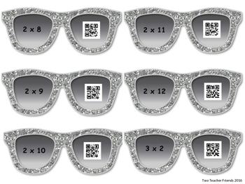 Multiplication QR Code {single digit & zeros}