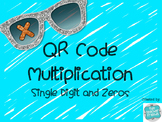 Multiplication QR Code {single digit & zeros}