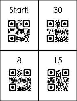 QR Code - Multiplication (3,4)