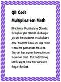 QR Code Multiplication Practice