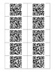 QR Code Multiplication Task Cards