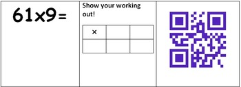 QR Code Multiplication Using Grid Method TUXU
