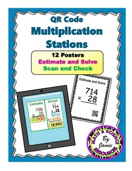 QR Code Multiplication and Estimation