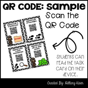 QR Code Mysteries (Sampler)