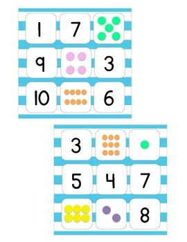QR Code Number Bingo
